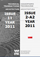 Technical Transactions Architecture, Issue 11, Year 108, Poland 2011