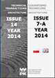 Technical Transactions Architecture, Issue 14 / 7-A, Poland 2014