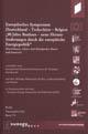 """Europäisches Symposium Deutschland-Tschechien-Belgien """"90 Jahre Bauhaus – neue Herausforderungen durch die europäische Energiepolitik"""""""