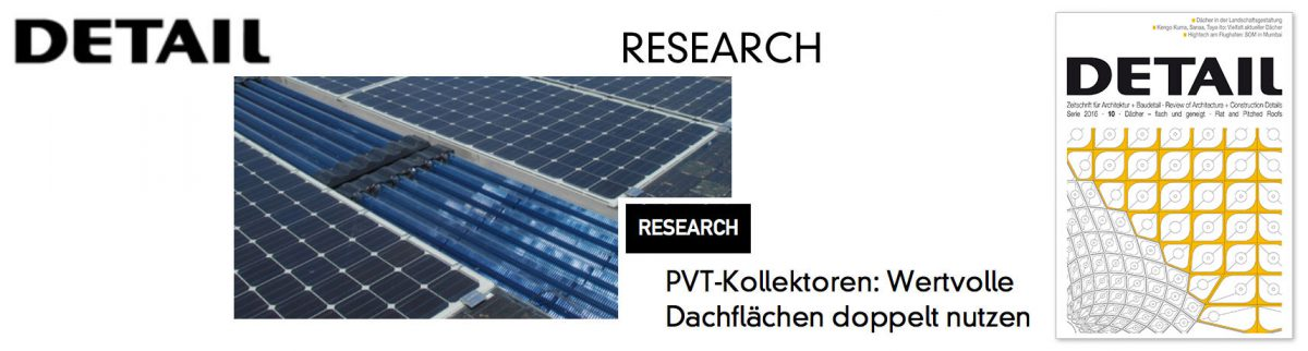 Report of HFT-project PVTintegral @ DETAIL RESEARCH