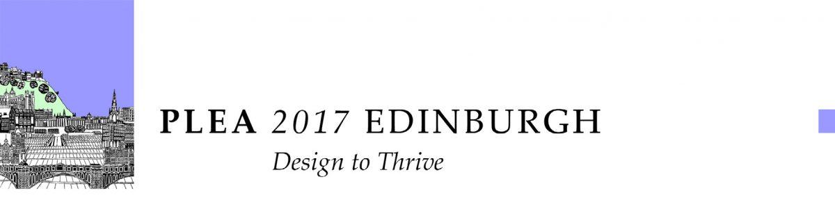 Presentation @ PLEA 2017 Edinburgh