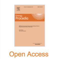 Publication in Energy Procedia