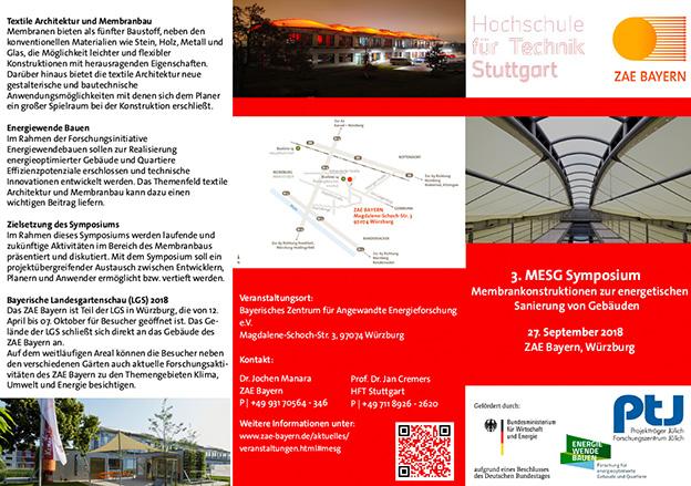 Presentation at Membrane Symposium in Würzburg